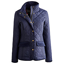 Buy Joules Moredale Quilt Jacket, Marine Navy Online at johnlewis.com