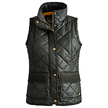 Buy Joules Milham Gilet, Everglade Online at johnlewis.com