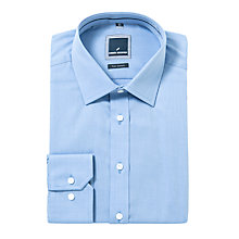 Buy Daniel Hechter Plain Texture Shirt, Blue Online at johnlewis.com