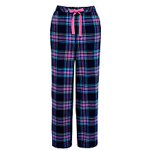 Buy John Lewis Rosebud Check Pyjama Pants, Navy / Brights Check Online at johnlewis.com