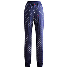 Buy Joules Kelsa Cuffed Pyjama Pants, Navy Online at johnlewis.com