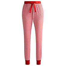 Buy Joules Kelsa Cuffed Pyjama Pants, Red Stripe Online at johnlewis.com