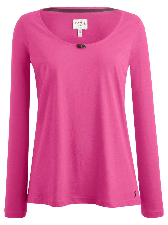 Joules Lianne Jersey Pyjama Top, Blush