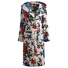 Buy Joules Rita Floral Robe, Cream Peony Online at johnlewis.com