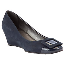 Buy John Lewis Merlot Wedged Court Shoes Online at johnlewis.com