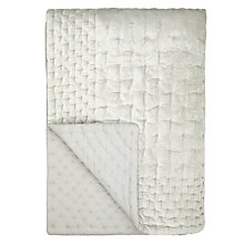 Buy John Lewis Boutique Hotel Velvet Stitch Throw Online at johnlewis.com