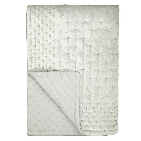 buy john lewis velvet stitch throw online at. Black Bedroom Furniture Sets. Home Design Ideas