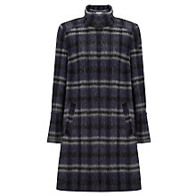 Buy John Lewis Check Swing Coat, Check Online at johnlewis.com