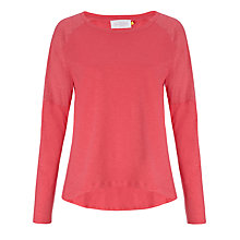 Buy Collection WEEKEND by John Lewis Mixed Slub Drop Shoulder Top Online at johnlewis.com