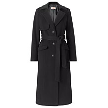 Buy John Lewis Wool Blend Long Trench Coat Online at johnlewis.com