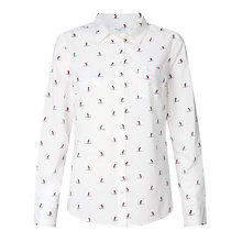 Buy John Lewis Owl Print Shirt, Multi Online at johnlewis.com