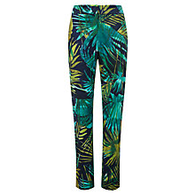 Buy Viyella Leaf Print Tapered Trousers, Amazon Online at johnlewis.com