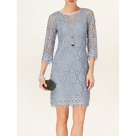 Buy Phase Eight Esther Dress, Eggshell Online at johnlewis.com