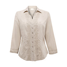 Buy East Embroidered Shirt, Lightstone Online at johnlewis.com