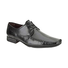 Buy Clarks Ferro Walk Leather Derby Shoes, Black Online at johnlewis.com