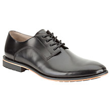 Buy Clarks Gatley Walk Leather Oxford Shoes, Black Online at johnlewis.com