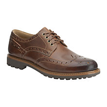 Buy Clarks Montacute Wing Leather Brogue Shoes Online at johnlewis.com