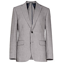 Buy Reiss Spruce Stitch Modern Fit Blazer, Grey Online at johnlewis.com