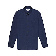 Buy Reiss Demetri Dark Denim Shirt, Indigo Online at johnlewis.com