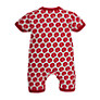 Buy Pigeon Anchor Print Romper, Red Online at johnlewis.com