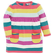 Buy John Lewis Multi Stripe Knit Dress, Multi Online at johnlewis.com
