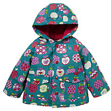 Buy Hatley Apple Print Raincoat, Multi Online at johnlewis.com
