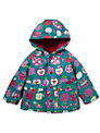 Hatley Apple Print Raincoat, Multi
