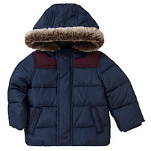 Buy John Lewis Quilted Jacket, Navy Online at johnlewis.com