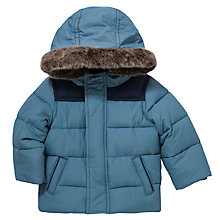 Buy John Lewis Baby Airforce Jacket, Blue Online at johnlewis.com