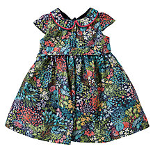 Buy John Lewis Sateen Dress, Multi Online at johnlewis.com