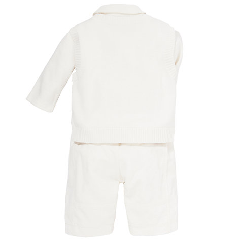 Buy Emile et Rose Baby Drake Outfit Set & Plush Toy, Cream Online at johnlewis.com