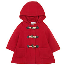 Buy John Lewis Duffle Coat, Red Online at johnlewis.com