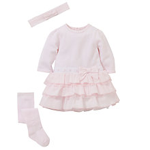 Buy Emile et Rose Baby Dress Set & Plush Toy, Pink Online at johnlewis.com