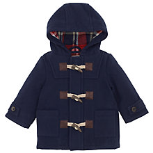 Buy John Lewis Duffle Coat, Navy Online at johnlewis.com