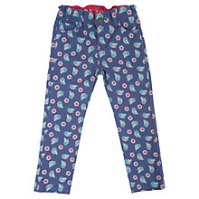 Buy Frugi Children's Birdie Sennen Twill Trousers, Purple Online at johnlewis.com