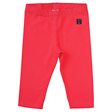 Buy Polarn O. Pyret Baby Three-Quarter Length leggings, Pink Online at johnlewis.com