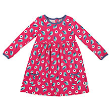 Buy Frugi Girls' Bird Maddie Dress, Pink Online at johnlewis.com