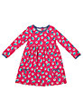Frugi Girls' Bird Dress, Pink