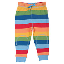 Buy Frugi Baby Rainbow Kneepatch Crawlers, Multi Online at johnlewis.com