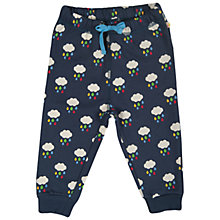 Buy Frugi Raincloud Benjamin Joggers, Navy/Multi Online at johnlewis.com