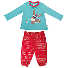 Buy Frugi Baby Molly Winter Rabbit Top and Trousers Online at johnlewis.com