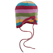 Buy Frugi Rainbow Knit Hat, Multi, One Size Online at johnlewis.com