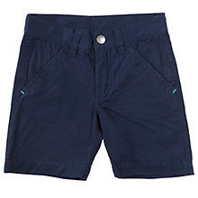 Buy Polarn O. Pyret Baby Chino Shorts, Navy Online at johnlewis.com