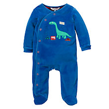 Buy John Lewis Baby Dino In The City Sleepsuit Online at johnlewis.com