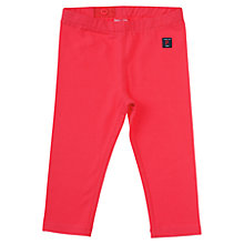 Buy Polarn O. Pyret Girls' Three-Quarter Length leggings, Pink Online at johnlewis.com