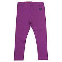 Buy Polarn O. Pyret Girls' Three-Quarter Length Leggings, Purple Online at johnlewis.com