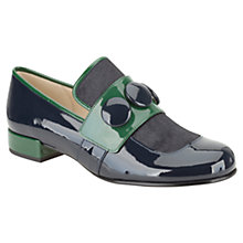 Buy Clarks: Orla Kiely Dora Leather Loafers Online at johnlewis.com