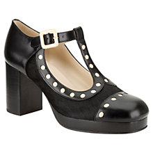Buy Clarks Orla Kiely Dotty Leather Mary-Jane Court Shoes Online at johnlewis.com