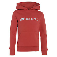 Buy Animal Boys' Flipa Logo Hoodie Online at johnlewis.com