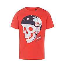 Buy Animal Boys' Halfpipe T-Shirt, Red Online at johnlewis.com